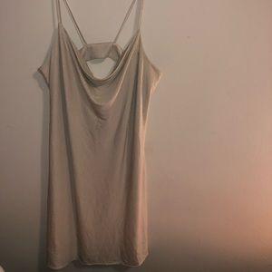 Cynthia Steffe Cream Sparkle Dress